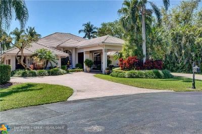 Davie Single Family Home For Sale: 11420 SW 23rd Pl