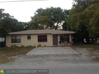 Oakland Park Single Family Home For Sale: 3301 NE 5th Ave