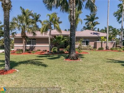 Davie Single Family Home For Sale: 14051 SW 17th St