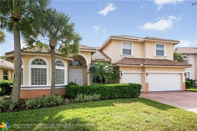 Coconut Creek Single Family Home For Sale: 7107 Pinecreek Ln
