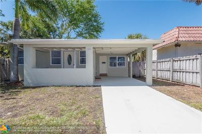 Fort Lauderdale Single Family Home For Sale: 1239 NE 5th Ave