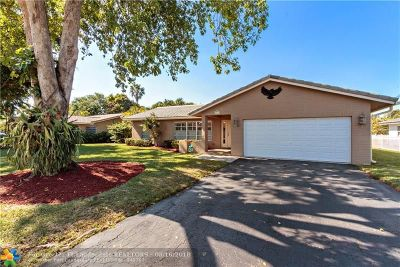 Coral Springs Single Family Home For Sale: 8582 NW 27th Dr