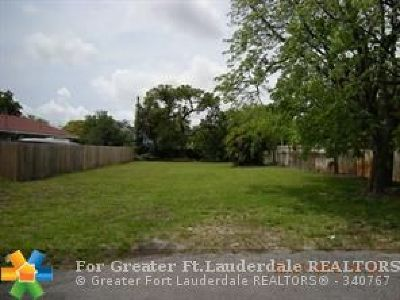 Pompano Beach Residential Lots & Land For Sale: SW 14th St