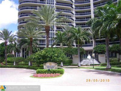 Lhermitage I Condo, Lhermitage Ii Condo Rental For Rent: 3200 N Ocean Blvd #905