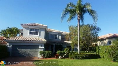 Boca Raton FL Single Family Home For Sale: $750,000