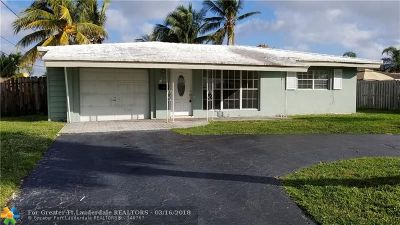 Pompano Beach FL Single Family Home For Sale: $599,000