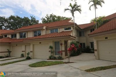 Plantation Condo/Townhouse For Sale: 9290 NW 9 Ct #9290