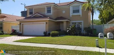 Sunrise Single Family Home For Sale: 13712 NW 22nd Pl