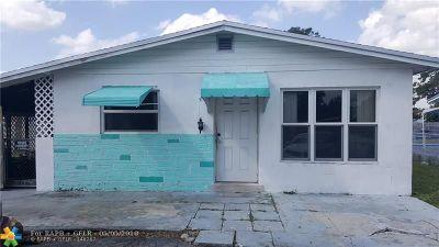 Davie Single Family Home For Sale: 6341 SW 41st Pl