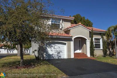 Sunrise Single Family Home Backup Contract-Call LA: 1294 NW 125 Terr