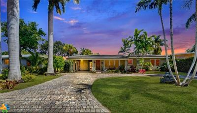 Wilton Manors Single Family Home For Sale: 2840 NE 17th Ave