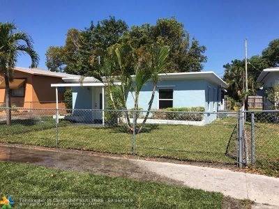 Hollywood Single Family Home For Sale: 2231 Forrest St