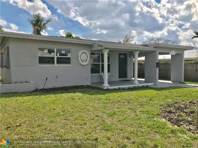 Broward County Single Family Home For Sale: 80 NW 46th Ct