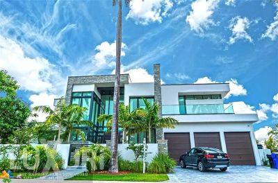 Fort Lauderdale Single Family Home For Sale: 441 San Marco