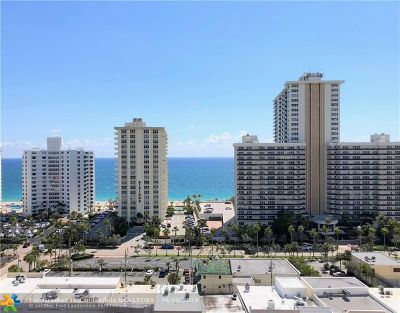 Fort Lauderdale Condo/Townhouse For Sale: 3300 NE 36th St #1611