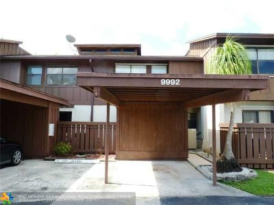 Coral Springs FL Condo/Townhouse For Sale: $222,900