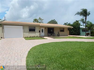 Pompano Beach FL Single Family Home For Sale: $449,000