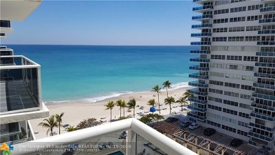 Broward County, Collier County, Lee County, Palm Beach County Rental For Rent: 3500 Galt Ocean Dr #904