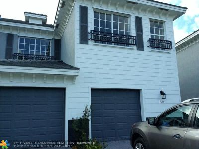 Lauderhill Condo/Townhouse For Sale: 3580 NW 13th St #3580