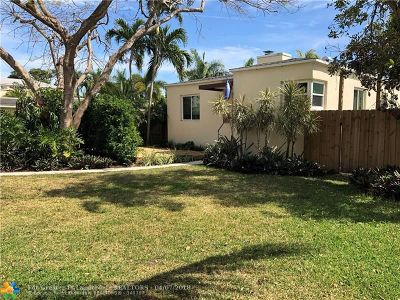 Fort Lauderdale Single Family Home For Sale: 1220 NE 2nd St