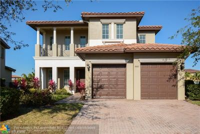 Parkland Single Family Home For Sale: 8082 NW 125th Ter