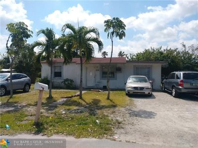 Fort Lauderdale Single Family Home For Sale: 2334 NW 13th St