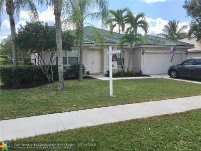 Coral Springs Single Family Home Backup Contract-Call LA: 10862 NW 56th Ct