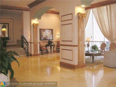 Fort Lauderdale Condo/Townhouse For Sale: 4280 Galt Ocean Dr #4 L