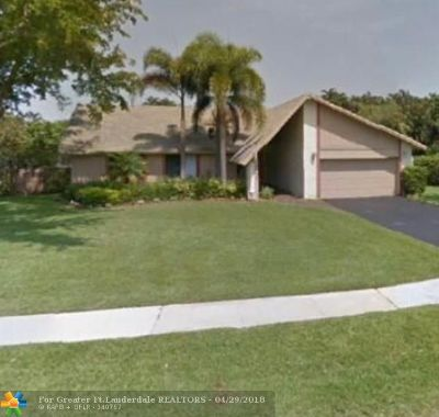 Plantation Single Family Home For Sale: 1670 NW 92nd Ter
