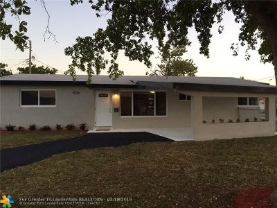 Sunrise Single Family Home For Sale: 6270 NW 16th Ct