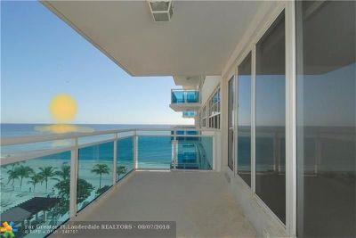 Fort Lauderdale Condo/Townhouse For Sale: 3430 Galt Ocean Dr #804
