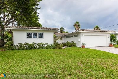 Fort Lauderdale Single Family Home For Sale: 1200 Tangelo Isle