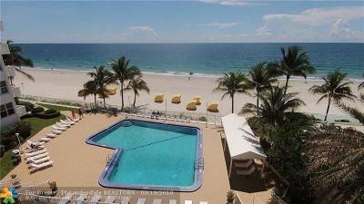 Fort Lauderdale Condo/Townhouse For Sale: 4010 Galt Ocean Dr #1616