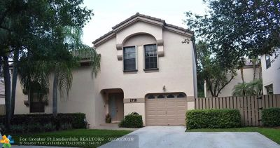 Plantation Single Family Home For Sale: 1710 NW 107th Way