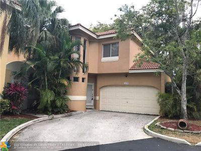 Coral Springs Rental For Rent: 11399 Lakeview Dr