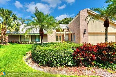 Tamarac Single Family Home Backup Contract-Call LA: 7615 Black Olive Way