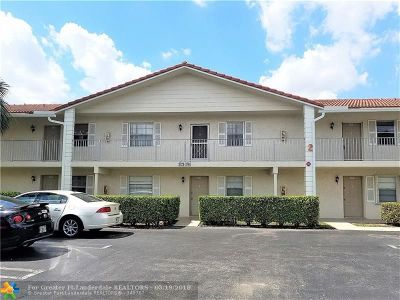 Coral Springs FL Condo/Townhouse For Sale: $79,900
