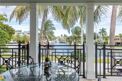 Fort Lauderdale Single Family Home For Sale: 909 Cordova Rd