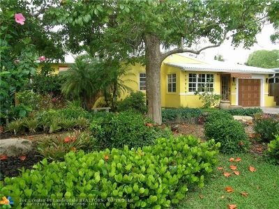 Fort Lauderdale Single Family Home For Sale: 525 NE 13th Ave