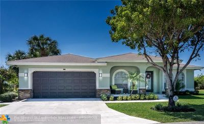 Pompano Beach Single Family Home For Sale: 401 NW 16th Pl