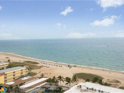 Pompano Beach Condo/Townhouse For Sale: 531 N Ocean Blvd #1809
