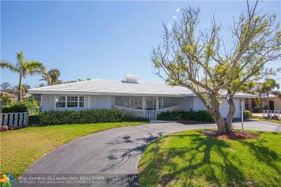 Lauderdale By The Sea Single Family Home For Sale: 2040 Waters Edge