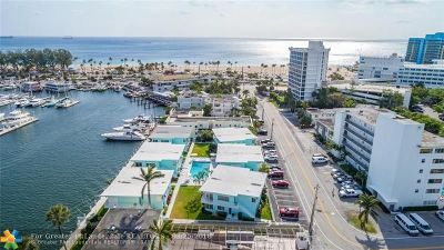 Broward County Condo/Townhouse For Sale: 3025 Harbor Dr #9