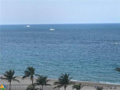 Fort Lauderdale Single Family Home For Sale: 3900 Galt Ocean Dr. Unit 1207