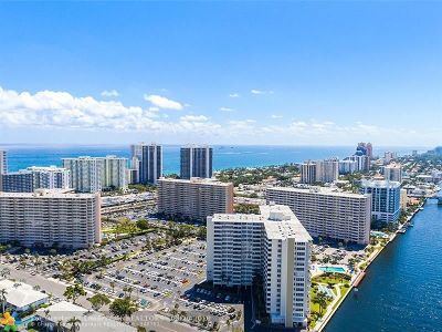 Fort Lauderdale Condo/Townhouse For Sale: 3200 NE 36th St #1014