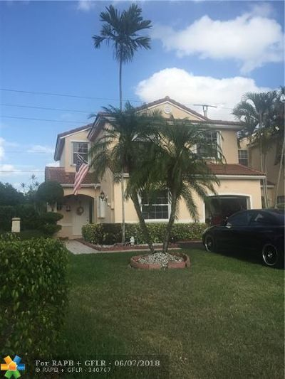 Pembroke Pines Single Family Home For Sale: 741 NW 172nd Ter