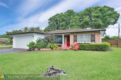Broward County Single Family Home For Sale: 170 NW 33rd St