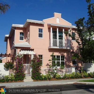 Broward County, Collier County, Lee County, Palm Beach County Rental For Rent: 912 NE 17th Way
