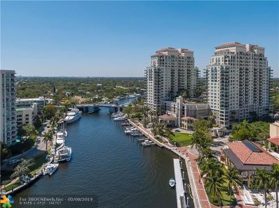 Fort Lauderdale Condo/Townhouse For Sale: 610 W Las Olas Blvd #1213N