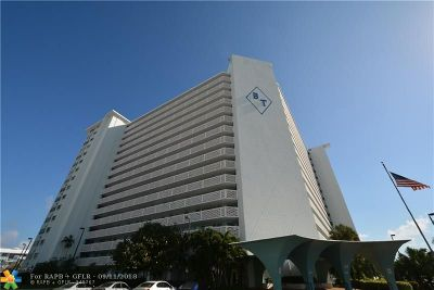 Fort Lauderdale Condo/Townhouse For Sale: 1900 S Ocean Dr #707